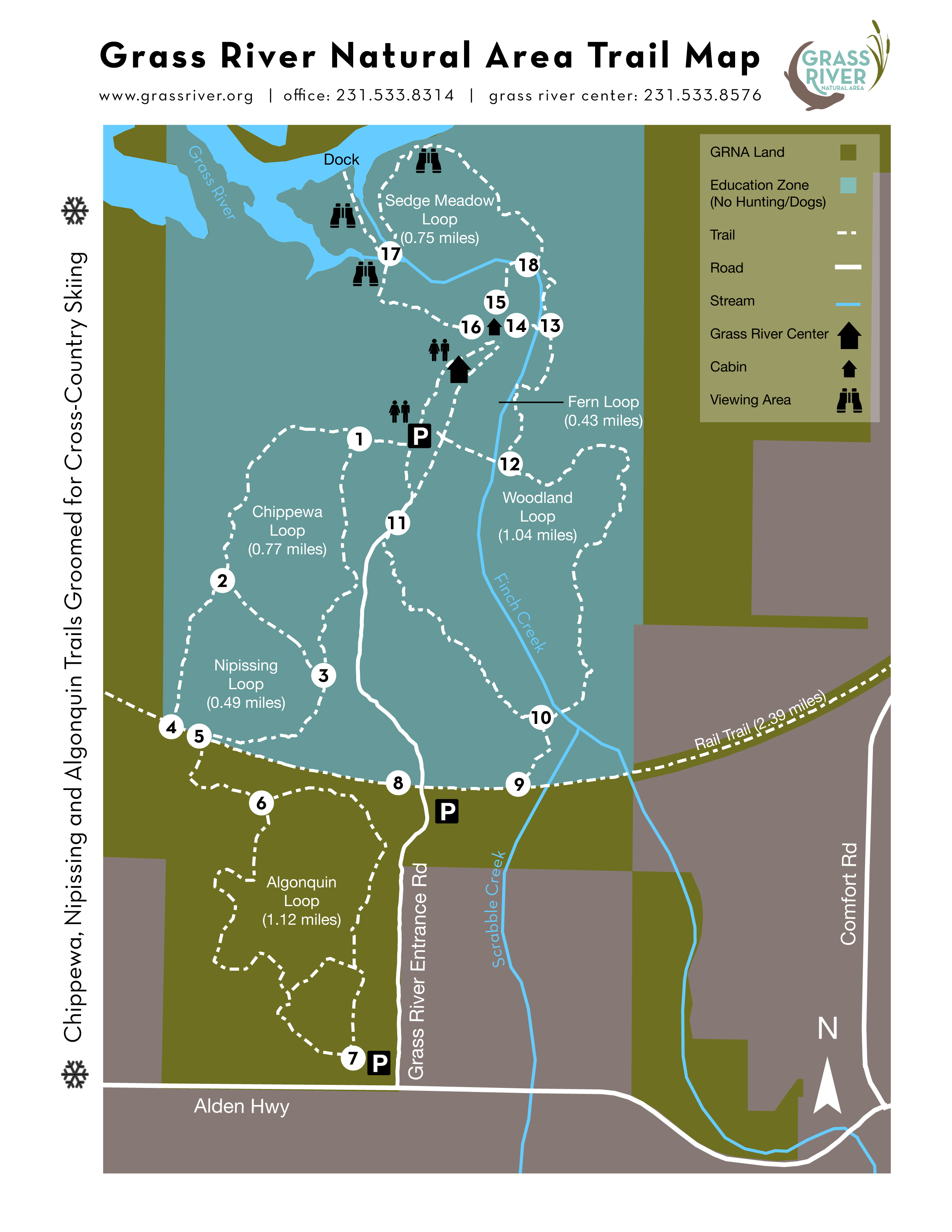 Hiking Trails, Nature Trails | Bellaire, Michigan Nature Preserve